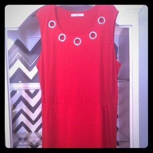 Dresses & Skirts - Red Avon dress sz 2X nwot